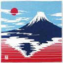 手捻染大風呂敷 『富士山』 kenema 【追跡可能メール便送料無料!】