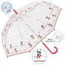あす楽対応!【雨傘】ディズニー傘 『 ミッキー&ミニー 』60cm ジャンプ傘【送料無料(代引手数料別)】