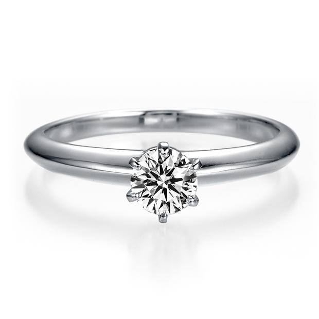 (婚約指輪 ダイヤ) プラチナ Pt950 一...の紹介画像2