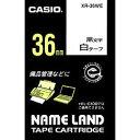(KC)【在庫あり】 カシオ ネームランドテープ XR-36WE