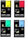 (KC) 【在庫あり】カシオ ネームランドテープ スタンダード XR-6