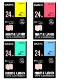 (KC) 【在庫あり】カシオ ネームランドテープ  スタンダード XR-24
