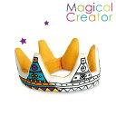 【ヒロコーポレーション】Magical Creatorマジカルクリエーター・クッション(クラウン)キッズ/ぬいぐるみ/プレゼント/誕生日/男の子/女の子/知育玩具/ぬりえ
