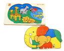【エドインター】木製パズル(のぞいてみよう(3)どうぶつ親子)/出産祝い/プレゼント/誕生日/男の子/女の子/知育玩具/おもちゃ