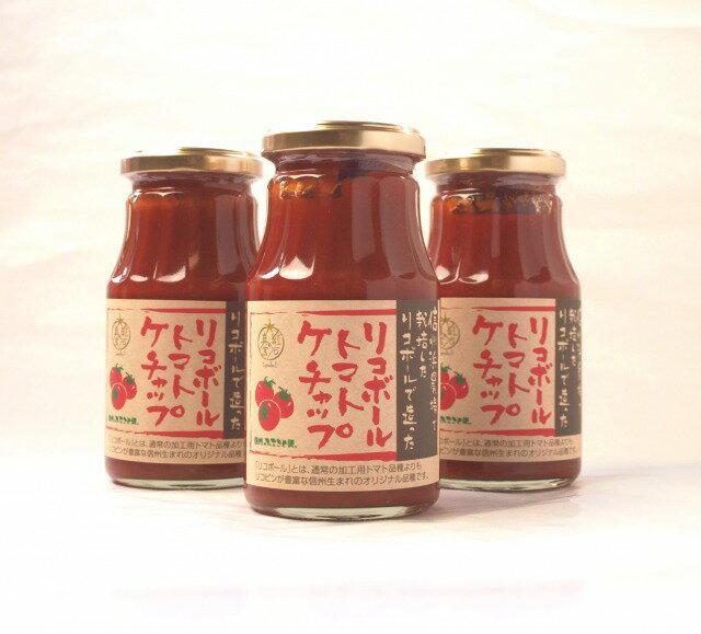 【送料無料】リコボール ストレートトマトケチャップ 1ケース(30本入)