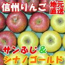 信州りんご【サンふじ&シナノゴールド】訳ありご家庭用10kg...