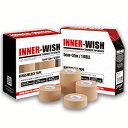 【 キネシオ テーピング 】INNER-WISH ( インナーウィッシュ ) 各サイズ(25.0mm×12巻入)(37.5mm×8巻入) (50.0mm×6巻入...