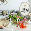 HOLMEGAARD �ۥ�६���� clear H10cmDESIGN WITH LIGHT Pot with leather handle clear H10cm 4343516...