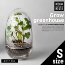 【Design House Stockholm デザインハウスストックホルム】Grow GREENHOUSE clear グロウ グリーンハウス クリア ガラス 鉢 植木鉢 北欧 Vase 花瓶【コンビニ受取対応商品】【RCP】