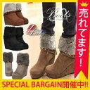 ブーツ レディース ブーティ ショートブーツ 【ムートンブー...