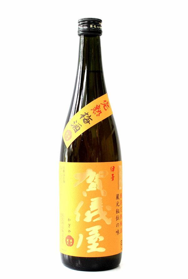 伊予賀儀屋 無濾過 西条完熟梅酒 720ml − 成龍酒造