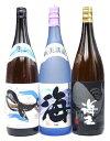芋焼酎 海 くじらのボトル 海王 1800ml×3本セット − 大海酒造