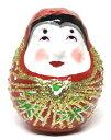 福岡県知事指定 特産伝統工芸品 4代目中尾英樹作博多張り子 起き上がり姫達磨(だるま・ダルマ)