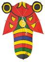 民芸品 和凧 北九州市 戸畑日本凧 手作り 手描き孫次凧 セミ凧 (小)