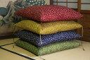 伝統的な座布団の形と風合いをお楽しみいただければ幸いです。オリジナル   桜々座布団(八...