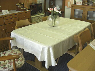 Hot selling! Restocked! 180x135cm tablecloth off white