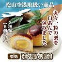 【手作りの味】栗菓子「栗まんじゅう2種類の6個セット」【松山空港人気商品】