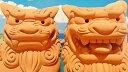 送料無料!!【シーサー・置物・玄関】素焼きシーサー(大)2種類★沖縄・人気・土産・ギフト・オススメ・