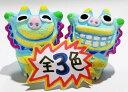 【シーサー・置物・玄関】米子焼★ヒマワリS(3色)★沖縄のペアシーサー・沖縄・国際通り・人気・置物・