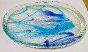RoomClip商品情報 - 琉球ガラス★ゴーヤー大皿(2色)★沖縄・人気・土産・手作り・かわいい・きれい・ギフト・母の日・お母さん・母…