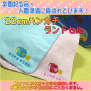 [postage free] 22cm handkerchief towel / schoolchild's satchel (newly) containing name [excellent child / name / case]
