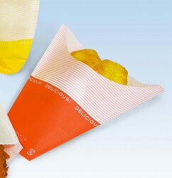 ポテト袋Sサイズ(デリシャス柄)