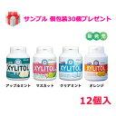 キシリトールガムボトルタイプ 90粒 12個入 (プレゼント付)