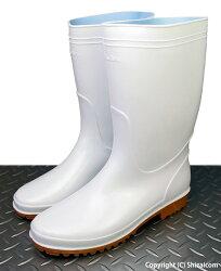 抗菌防臭加工で衛生的、スタンダードタイプの耐油衛生長靴です。KAWANISHI8300衛生耐油長靴ホワイト作業長靴衛生長靴耐油長靴レビュー記入キャンペーン対象商品
