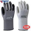 KAWANISHI No.2983 テクノトップ 【10双入】 手の平に耐久性と耐油性に優れたニトリルゴムをコーティングした手袋です。 作業手袋 ..