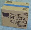 【送料無料】オカモト養生テープ PEクロス(ライトブルー) #414LB  50mm×25M  30巻(1箱)【smtb-KD】