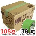 オカモト 養生テープ PEクロス(#412) 38mm幅×25m巻 3ケース(計108巻)