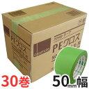 オカモト 養生テープ PEクロス(#412) 50mm幅×25m巻 1ケース(30巻入)