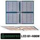 植物育成LED Sdatek LED-01 400W 超薄型 Grow LED Lighting