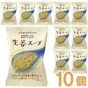NATURE FUTURe 生姜スープ(10.6g×10食)【コスモス食品】
