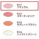 エルエリートチークカラー 611(ナチュラル)【ジュポン化粧品】