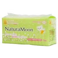 Naturman 衛生巾 (常常一天 w / 翼,綠色) (16 件) [日本綠色 Pc: [產品點達 26 x 12/3 19:00 卡拉 12/8 1:59 作]