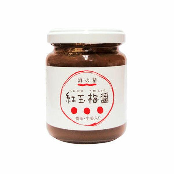 紅玉梅醤 番茶・生姜入り(130g)【海の精】の商品画像