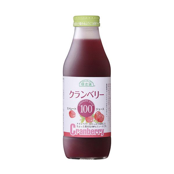 クランベリー100(ストレート)(500ml)【マルカイコーポレーション】