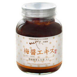 Concentration Japanese tea of ordinary quality, ginger case sweetened ume paste extract (260 g)