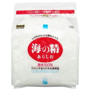 海の精・あらしお徳用(3kg)【海の精】