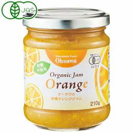 オーサワの有機オレンジジャム(210g)【オーサワジャパン】