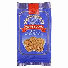五穀ドライワッフル(8枚)【創健社】の商品画像