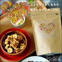 ココナッツとくるみの塩キャラメリゼ 230g 送料無料