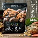 くるみ 1kg 送料無料 無添加 無塩 生くるみ (500g×2袋) アーモンド【予約商品9/28出荷