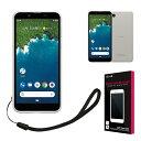 Android One S5 ケース Softbank ソフトバンク 高透明 耐衝撃 衝撃吸収 防指紋 ストラップ付 Y mobile アンドロイド ワン S5 TPU ソフト クリア ケース カバー シズカウィル(shizukawill)