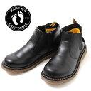 【HANG TENG】PUレザー・サイドゴアブーツ[ブラック] 17cm、18cm、19cm、20cm、21cm、22cm、23cm 子供服 男の子 女の子 キッズ ジュニア カジュアル アメカジ ハンテン シューズ くつ 靴