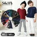 【S&H】【送料無料】高伸縮の柄物ストレッチパンツ 子供服 男の子 女の子 キッズ ジュ