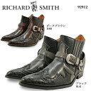 リチャード スミス リングブーツ サイドゴア ショートウエスタン 92912 RICHARD SMITH 【メンズ】