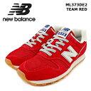 ショッピングbalance [NB ML373DE2 TEAM RED]newbalance ニューバランス ワイズD LIFESTYLE ライフスタイル Mens メンズ チームレッド 【メンズ】