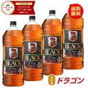【送料無料】 ブラックニッカ クリア 37度 4L×4本 1...